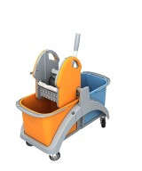 <p><b>Double plastic trolley TS2 TS2-0001</b></p>