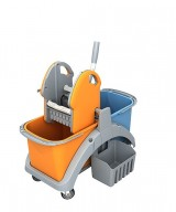 <p><b>Double plastic trolley TS2 TS2-0002</b></p>