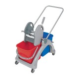 <p><b>Double plastic trolley 02.25. TS red/blue</b></p>
