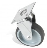<p><b>Wheel ø 100 mm with top plate</b></p>